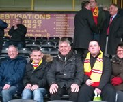 We have a strong relationship with Albion Rovers in Coatbridge which extends to matchdays!