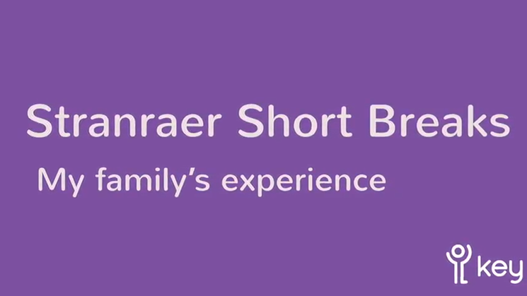 <p>A personal reflection on our short break services in Stranraer.</p>