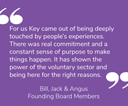 For our 40th memory, our founding board members share what Key means to them